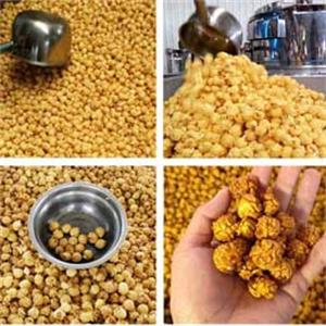 Gas Heating Caramel Flavors Popcorn Making Machine Video