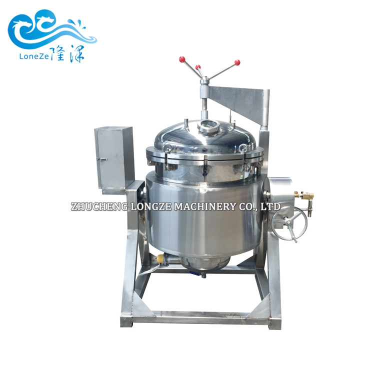Electric Thermal Oil Heated Candied Fruits Processing Machine