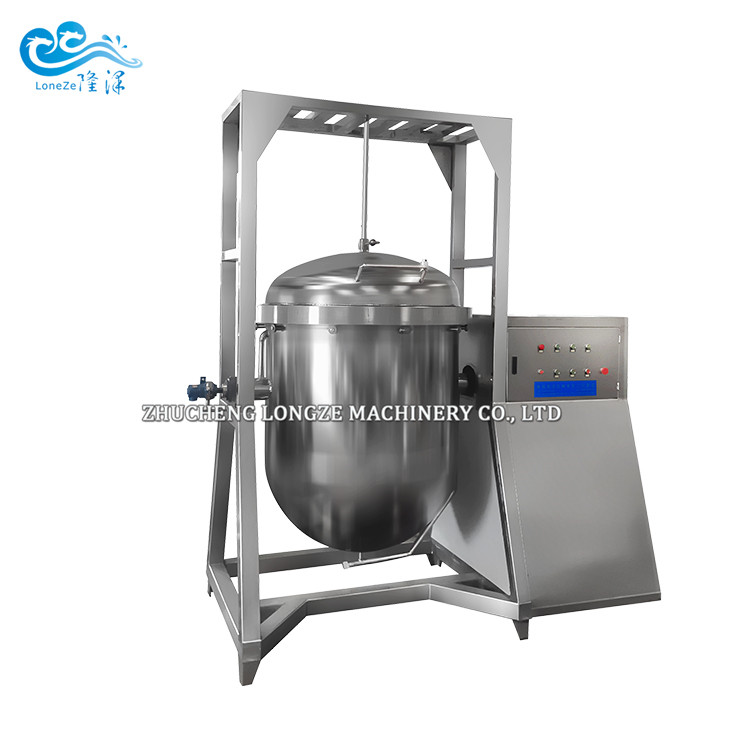 Soy Beans Cooking Machine