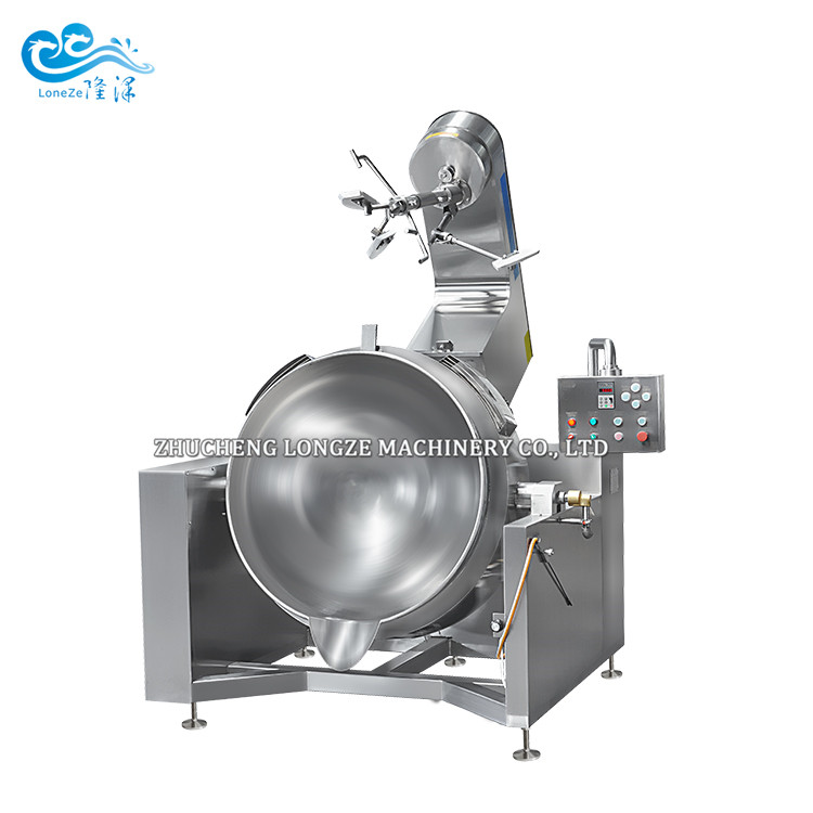 Full Automatic Cooking Mixer Machine