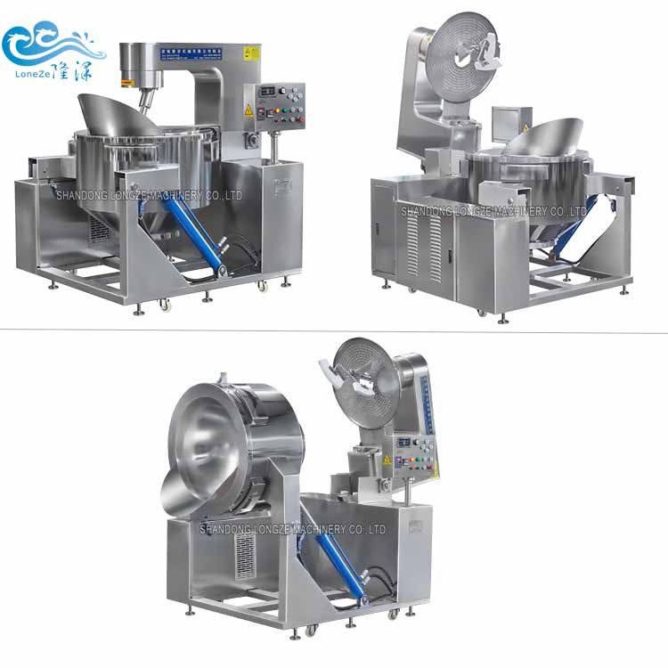 High Productivity Industrial Electromagnetic Popcorn Popper Machine