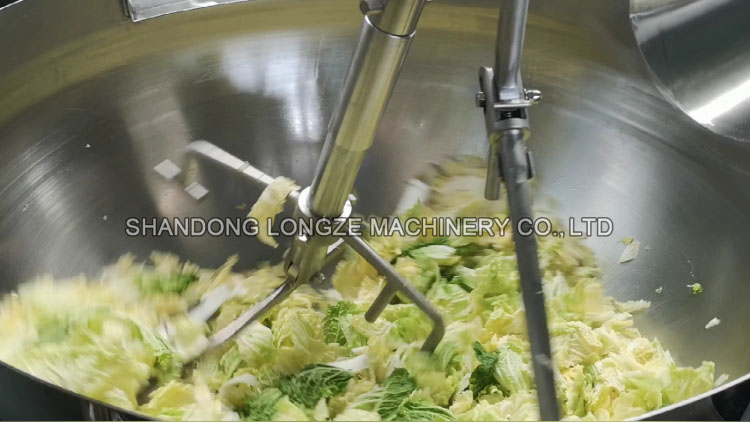Cooking Mixer Machine For Vegetables,Food processing equipment,cooking jacketed kettle