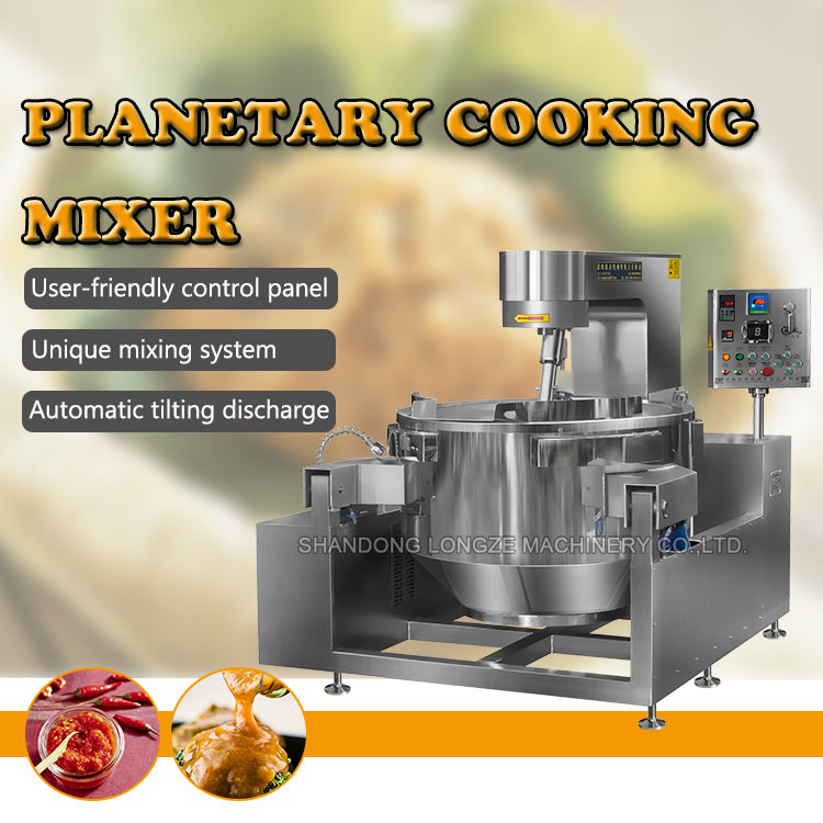 Hot Sale High Safety Level Food Cooking Mixer Equipment/Mixing Machine Price For Sauce