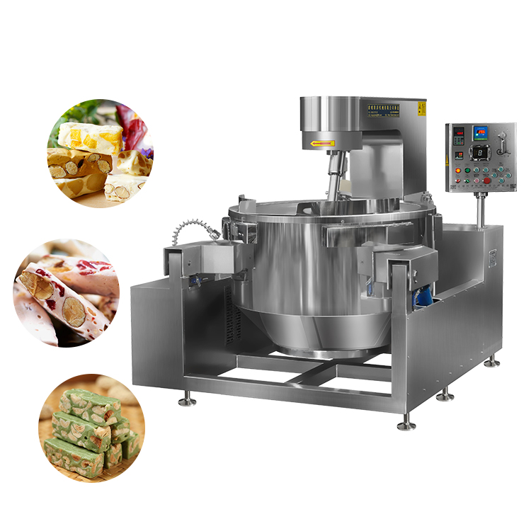 Automatic Seasoning Coated Flavored Nuts Processing Machine Sugar Honey Glazed Nuts Making Machine