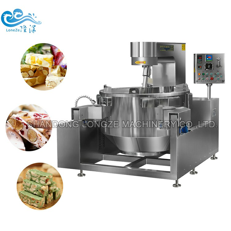 Sugar Coating Jacketed Cooking Kettle/Peanut Candy Making Jacketed Kettle