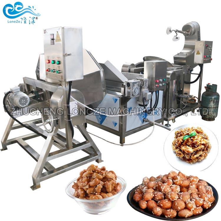 Nut Coating Machine To Make Walnut Coating