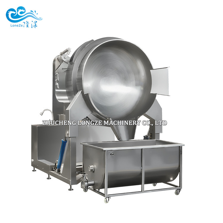 Automatic Tilting Stir Fry Cooking Machinery