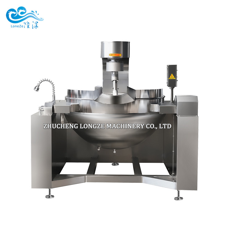 Fully Automatic Steam Cooking Mixer Machine