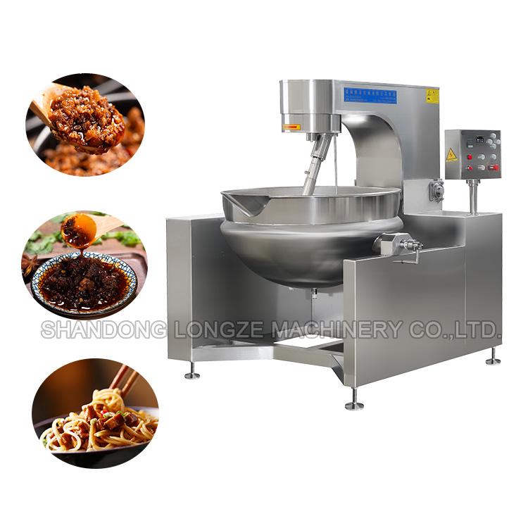 Steam Seafood Sauce cooker mixer machine