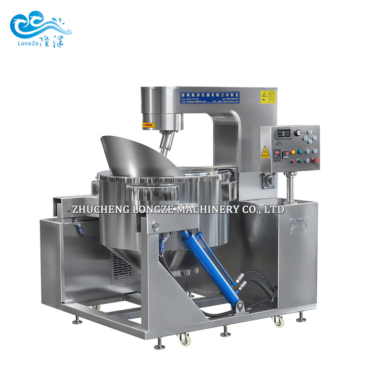 Electromagnetic sugar coating and frying machine