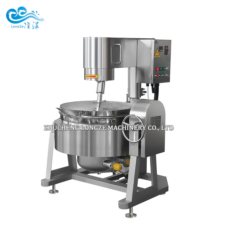 Chili Sauce Electric Thermal Oil Cooking Machine