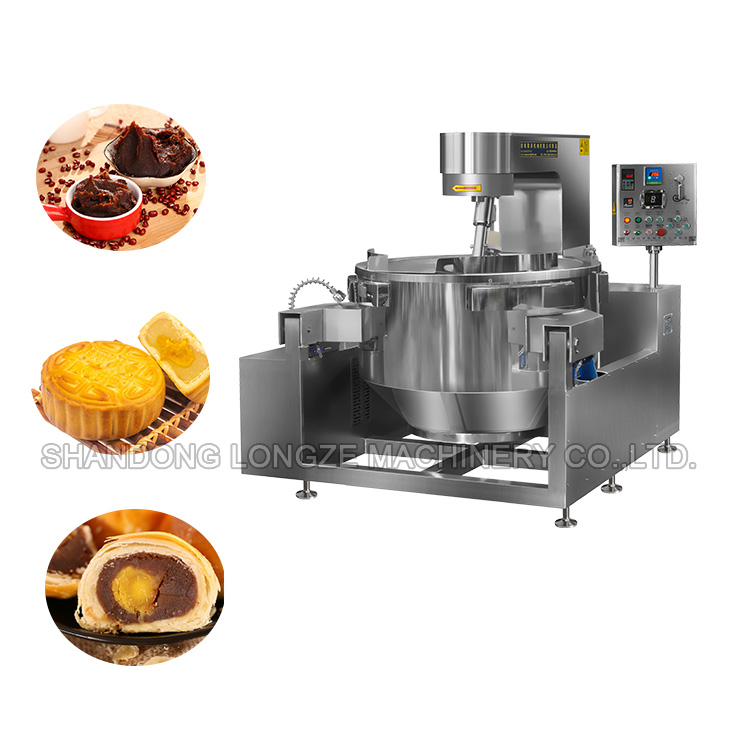 Big Capacity Automatic Commercial Industrial Cooking Mixer With Stirrer