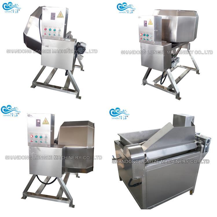 Automatic Caramelized Cashew Nut Coating Machine Peanut Processing Coating Machine