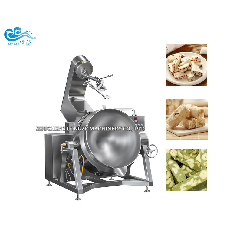 Industrial Good Quality Honey Coated Peanut Cashew Nuts Walnuts Almond Making Roasting Frying Processing Machine