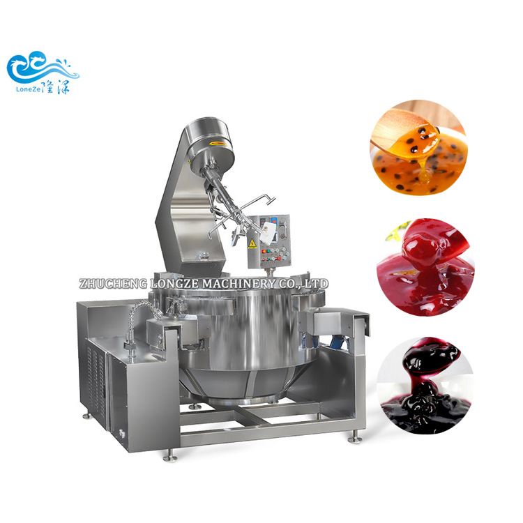 Automatic Electromagnetic Planetary Cooking Mixer Machine Scrambled Eggs 25Kg