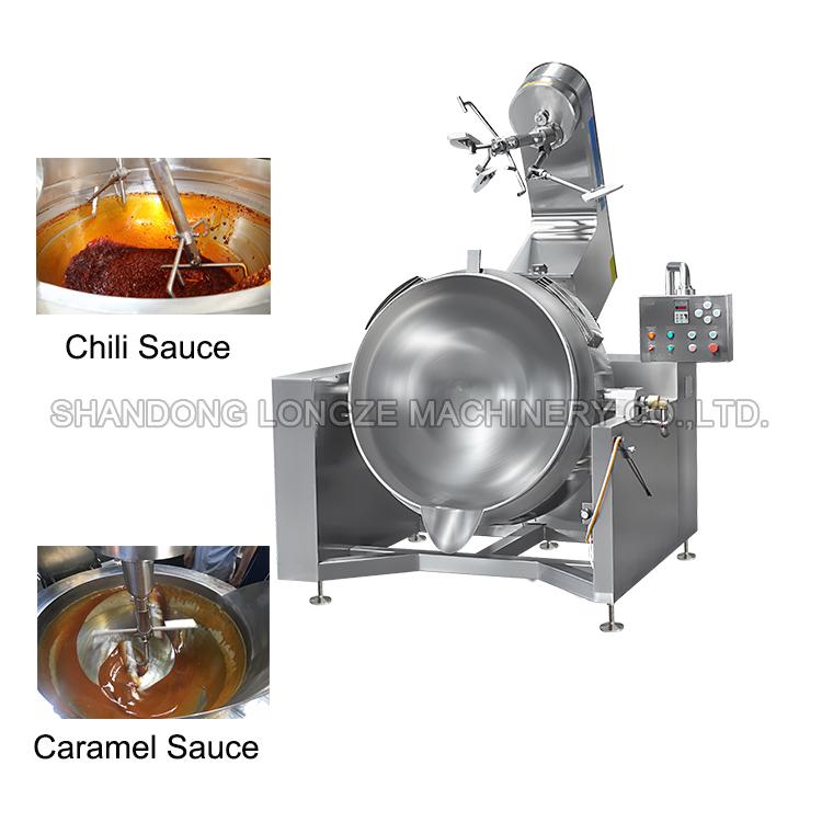 chili sauce cooking mixer