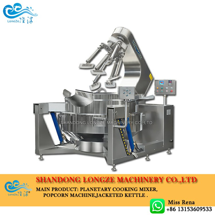 The Working Purpose Of The Planetary Cooking Mixers Machine Is To Achieve Cooking And Save Costs