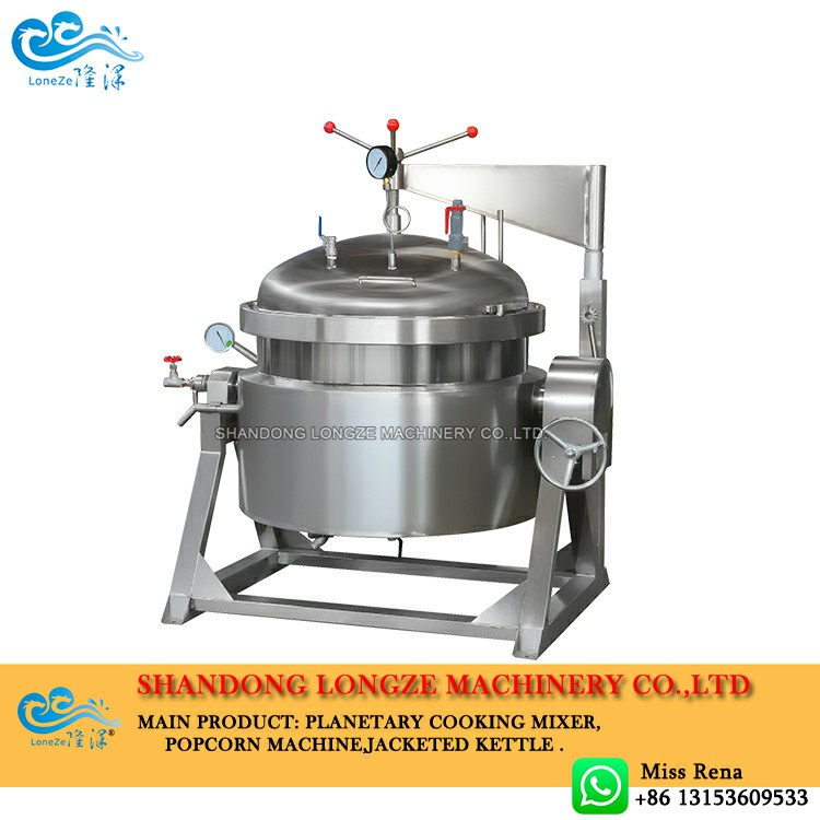 What Is The Industrial Pressure Cooker Maximum Cooking Temperature?