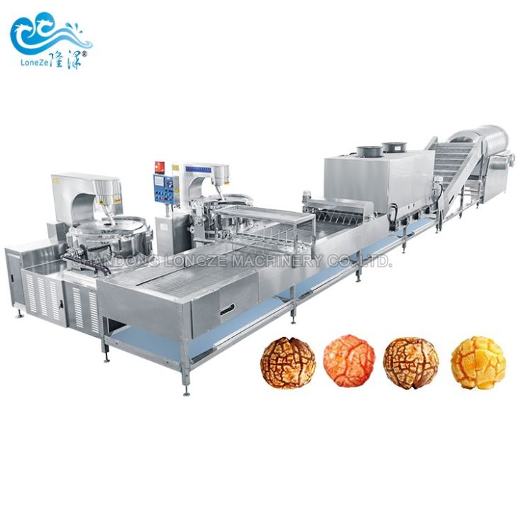 Ball Shape Popcorn Machine Production Line
