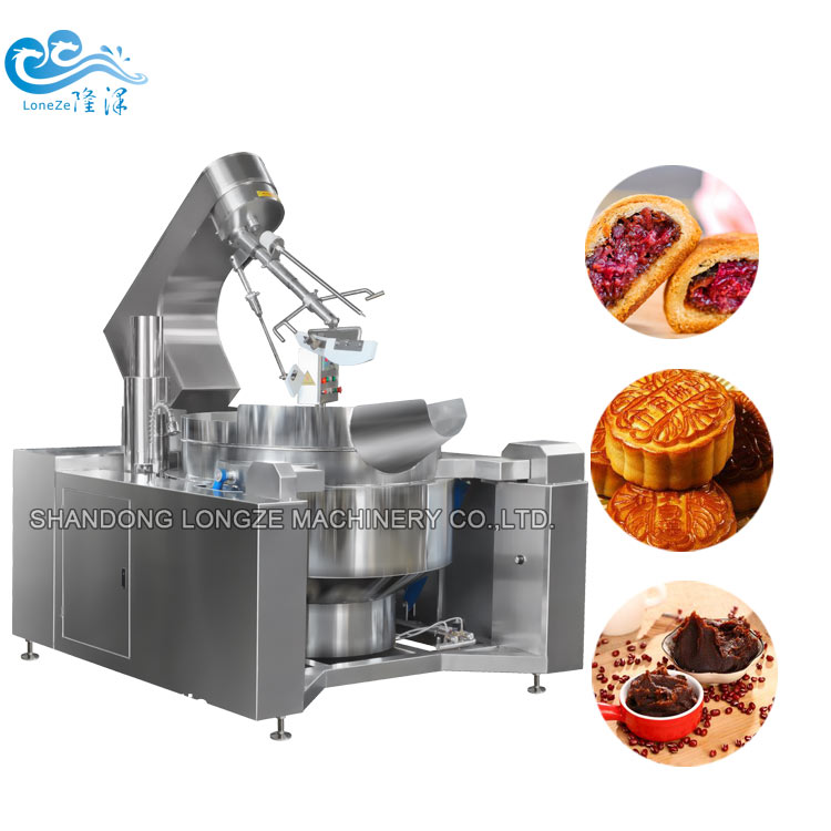 Commercial Automatic Cooking Mixer Machine With Stirrer
