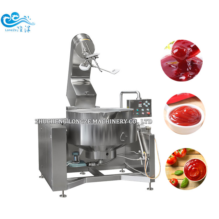 Industrial Multifunction Cooking Mixer Machine/jam Jacketed Cooker With Agitator