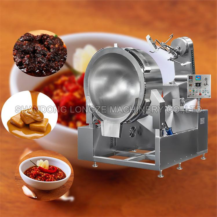 Best Industrial Mixer Cooking Machine For Meat Sauce Cooking