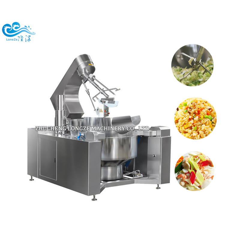200 Liter Multifunctional Automatic Planetary Cooking Mixer For Sauces/Curries/Gravies