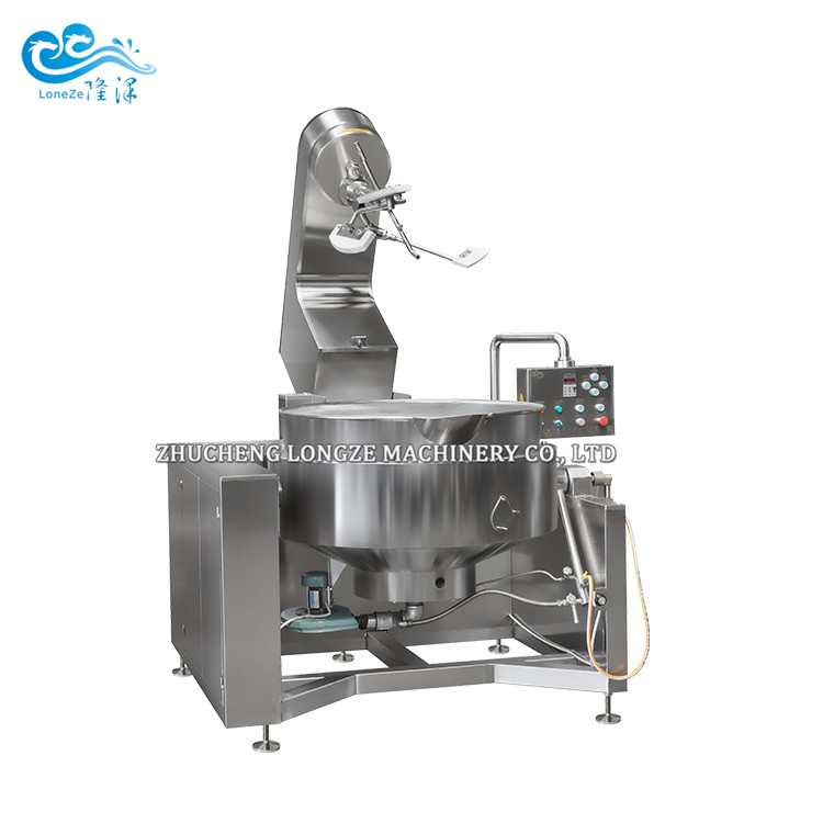 Automatic Gas Cooking Mixer 100liter Jacketed Kettle Pot Fried Rice Cakesr 100liter Jacketed Kettle P