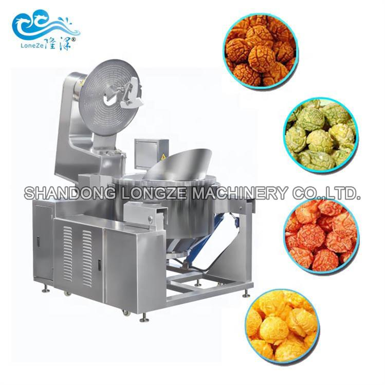 Simple Operate Stainless Steel Commercial Popcorn M