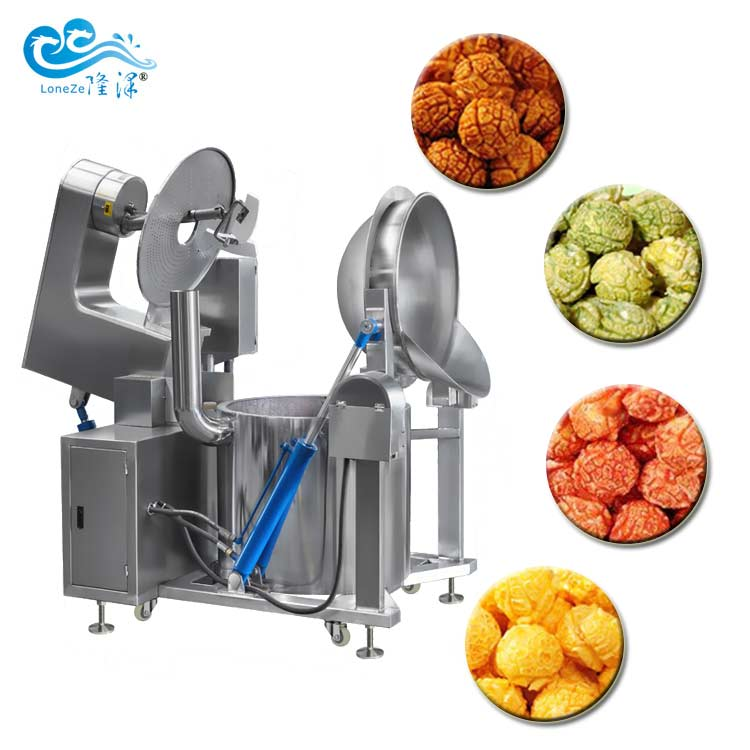 China Gas Heated Automatic Commercial Flavored Popc